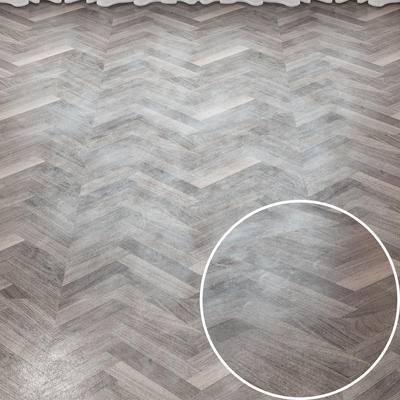 Vray材质, 鱼骨拼木地板, 木纹材质