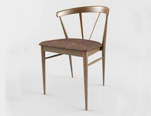 北欧简约, 实木椅, 椅子, 北欧椅子