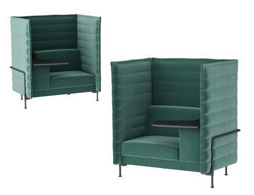 现代沙发, 单人沙发