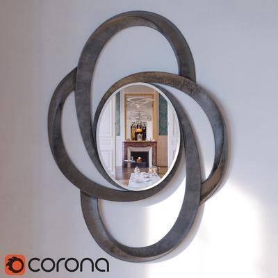 镜子, 墙饰, 现代镜子