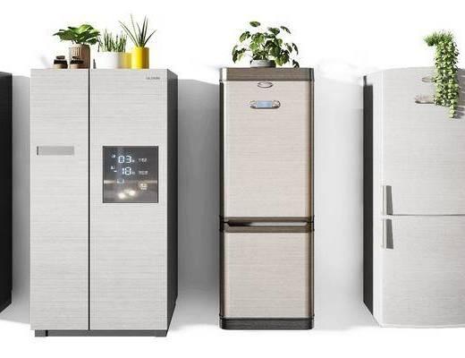 冰箱組合, 冰箱冰柜, 現代