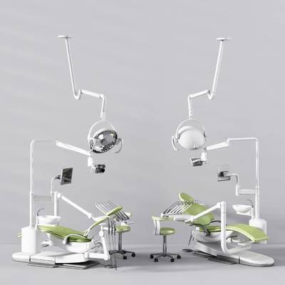 牙科椅, 医疗器械