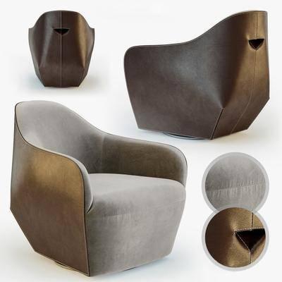 单人沙发, 现代