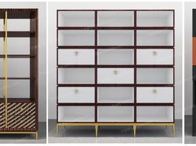 书柜, 柜, 现代, 置物柜, 装饰柜