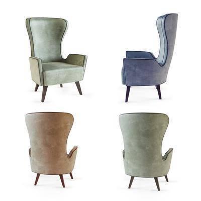 现代休闲沙发, 现代, 布艺沙发, 沙发