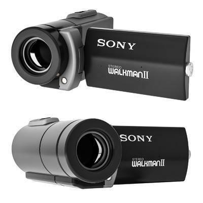 现代索尼手持DV, 摄像机