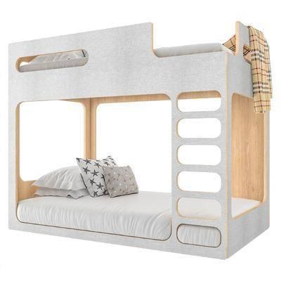 现代, 儿童床, 单体