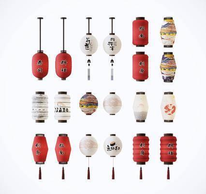 日式, 灯笼