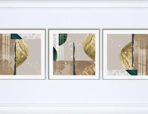 抽象, 艺术, 组合画, 装饰画, 装饰画组合, 挂画