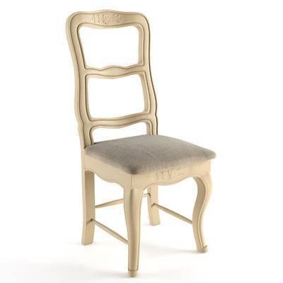 椅子, 单椅, 单人椅, 欧式, 欧式简约, 欧简