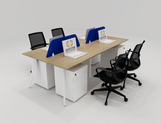 职员桌组, 办公桌组, 职员卡位