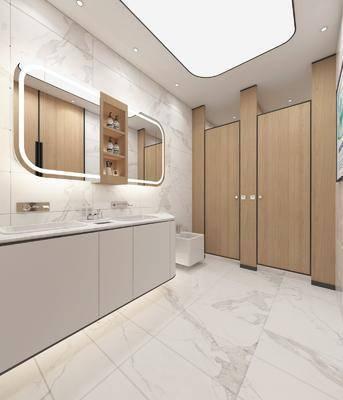臺柜, 鏡柜, 洗手臺, 洗浴組合, 衛生間