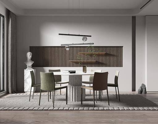 现代轻奢风格餐厅