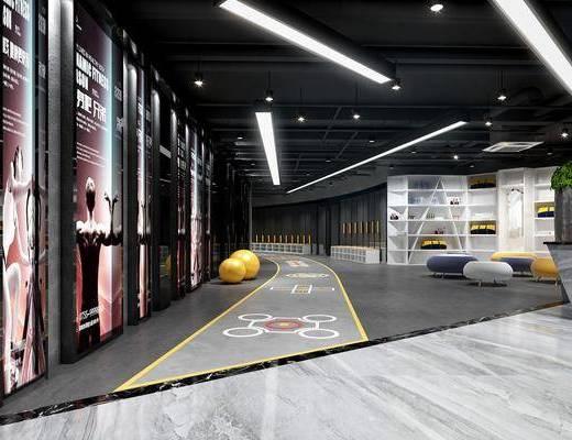 健身室, 健身器械