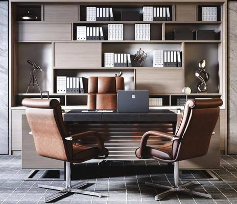 现代办公室, 办公室, 桌椅组合