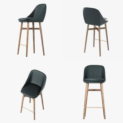 吧椅, 高脚凳, 单椅, 现代