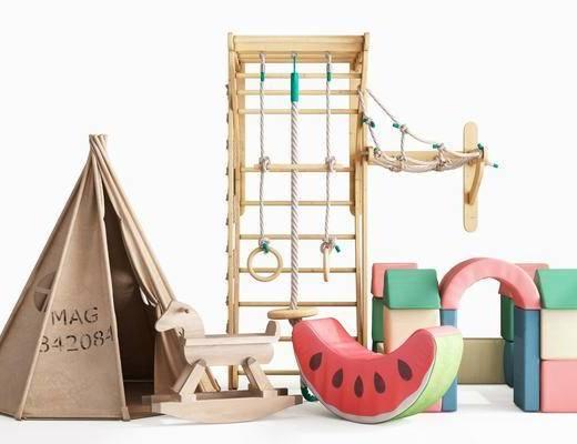 现代, 玩具, 组合