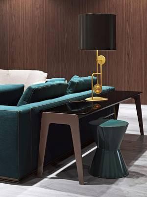 边几, 沙发组合, 摆件组合, 单椅