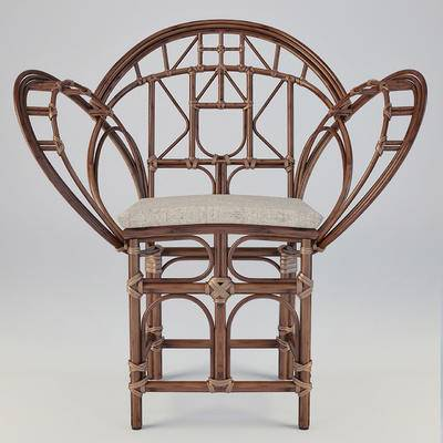 中式藤椅, 编藤椅