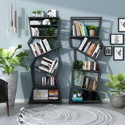 现代书柜, 书柜, 书架
