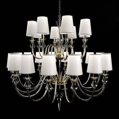 现代吊灯, 现代, 吊灯, 玻璃吊灯