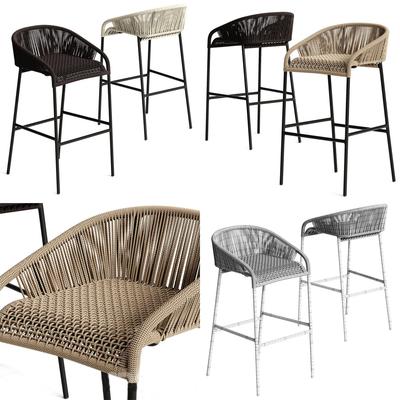 吧椅, 现代吧椅, 藤椅, 现代