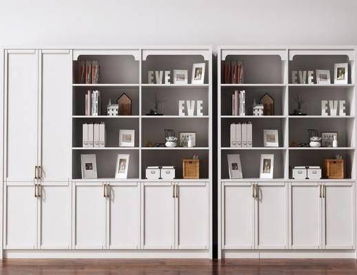 书柜, 陈列柜, 北欧