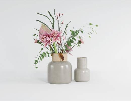 现代, 花瓶花卉, 现代花瓶花卉