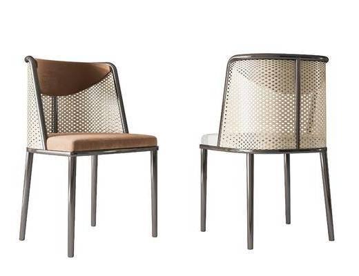 新中式, 餐椅, 单椅