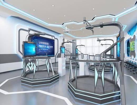 虚拟应用区, 工装, 展厅