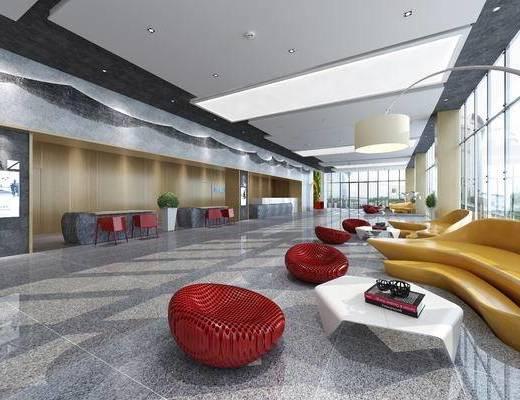 现代, 候机大厅, 休闲椅