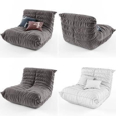 休闲沙发, 单人沙发, 沙发, 现代