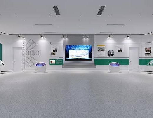AI人工智能馆, 智能教室, 展厅参观馆