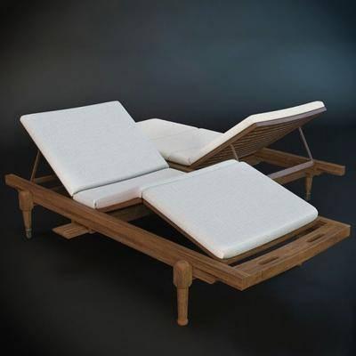 躺椅, 户外椅, 现代