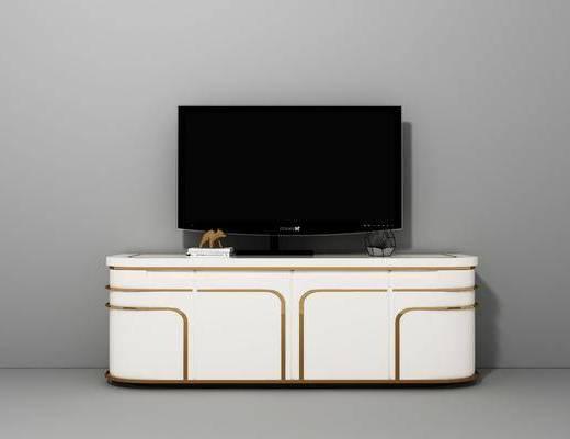 轻奢现代电视柜