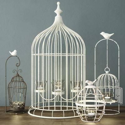 蜡烛台, 鸟笼, 欧式