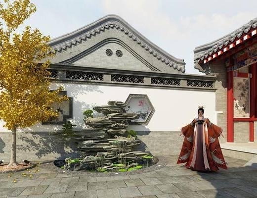 中式庭院, 庭院, 古建