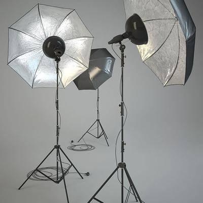 补光灯, 摄影灯, 落地灯, 现代