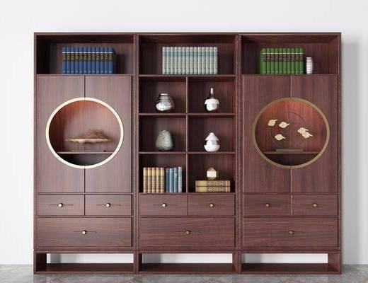 书柜, 书架, 柜架组合, 书籍