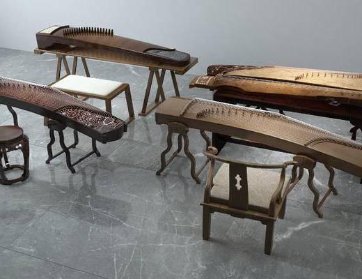古筝, 乐器