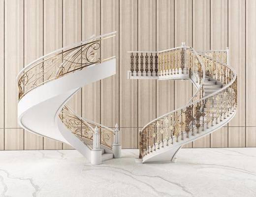楼梯, 旋转楼梯