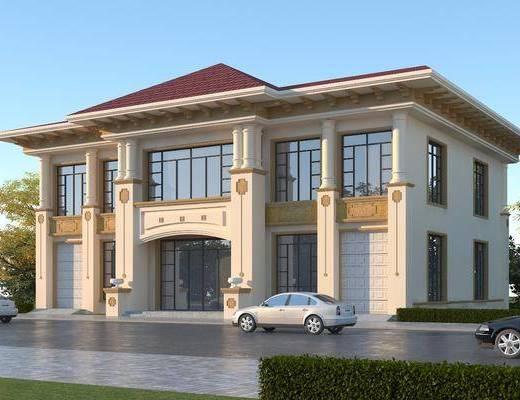 别墅, 建筑, 住宅