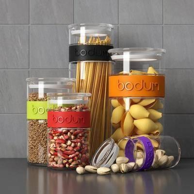 零食, 玻璃瓶, 坚果, 现代