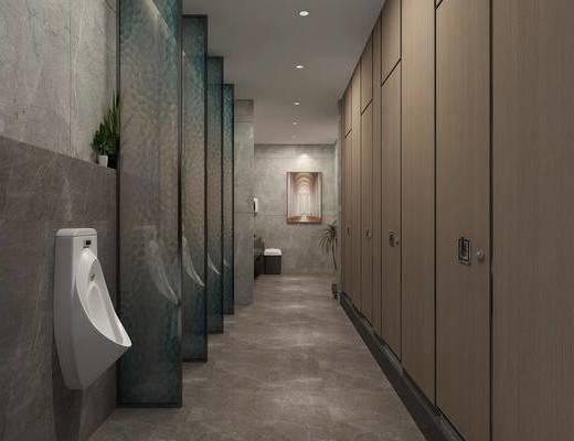 现代, 卫生间, 家装