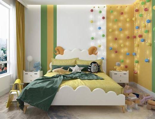 兒童床, 組合
