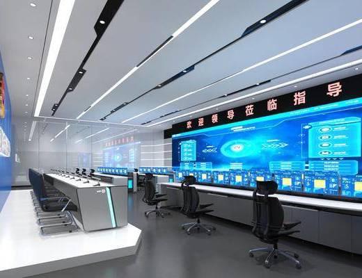 现代指挥控制室