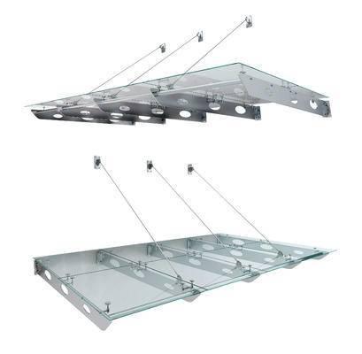 现代玻璃雨棚