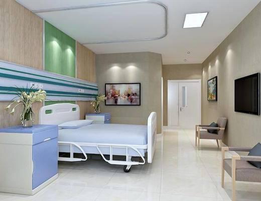 现代病房, 医院, 现代