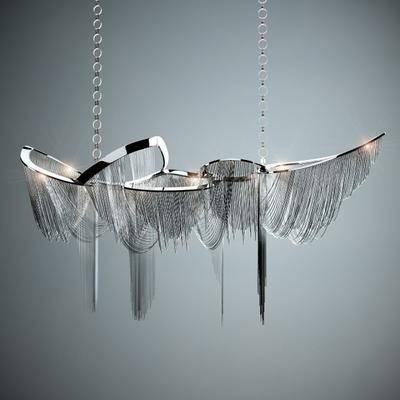 吊灯, 铁艺吊灯, 现代