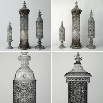 蜡烛台, 装饰灯, 摆件, 现代
